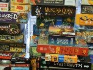 Wzruszający widok dla każdego planszówkowicza - stosy gier w Wypożyczalni :)