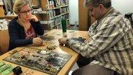 Zdjęcia ze spotkania w Bibliotece UAM